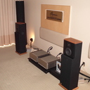 MIT Cables Oracle Matrix HD 120 speaker interfaces with Parasound amps and Chapman Audio T7 loudspeakers.