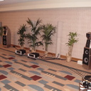 Spectral MH-770 speaker interfaces by MIT Cables with Spectral DMA-360 amplifiers and Wilson Audio MAXX 3 loudspeakers.