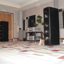 MIT Cables Oracle MA speaker interfaces with Audio Research and Magico Q3.