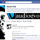 My Facebook profile page