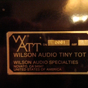 Wilson Audio Tiny Tot #1