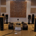 A nice Solution/Magico/MIT sound room at Komfortsound in Bangkok.