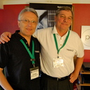 Alpar Huszti of Heed Audio and Bob Clarke, their US importer, of Profundo
