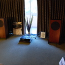 Trenner & Freidl's Pharaoh speakers went in for a while early evening.